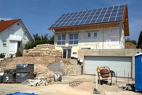 Installation Obrietan Wolfsberg Solar Heizung